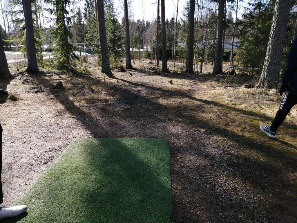 Nurmijärvi Multigolfpark Futisgolf Futisgolfradat